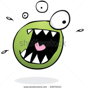 stock-vector-illustration-of-a-green-monster-going-out-of-his-mind-216712411